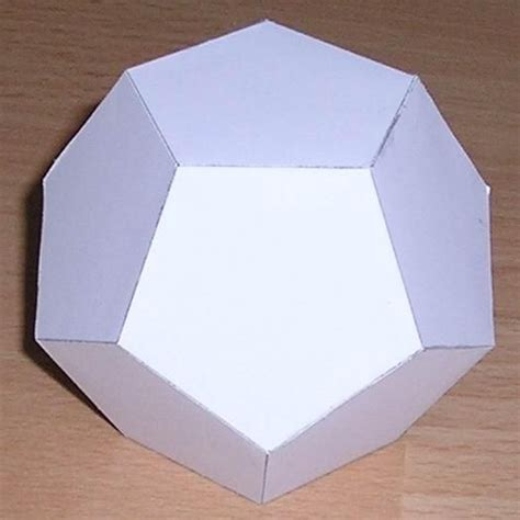 Dodecahedron Paper Folding - the 55 best images about 164 geometric template 164 on