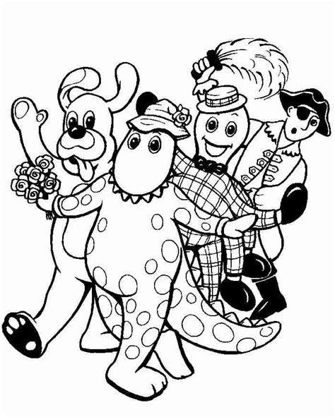 Wiggles Coloring Pages wiggles coloring pages coloring pages to print