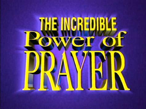 Power In Prayer the power of prayer c3 entertainment inc