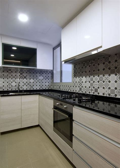 backsplash for kitchen singapore rejuvenated singapore home inspired by piet mondrian and aesthetics