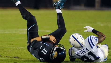 chad henne benched last night reminded the world that blaine gabbert is