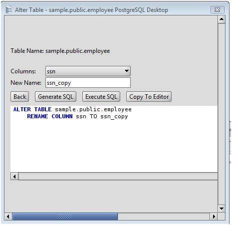 Change Table Name Oracle Alter The Table Column Name In Oracle Designer Tables Reference
