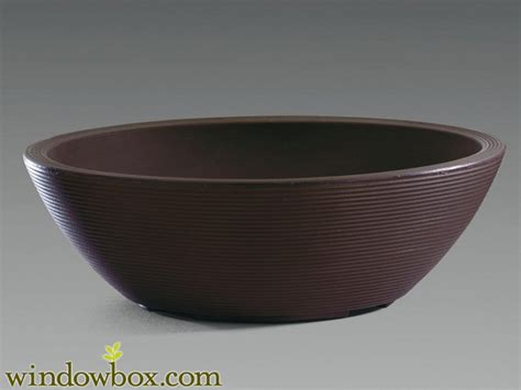 devondale oval bowl planter and resin planters