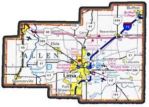 allen map allen ohio buckeye state sheriffs association