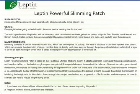 Slimpatch Slim Patch Pelangsing Tubuh jual leptin koyo slimpatch leptin isi 20 lembar koyo