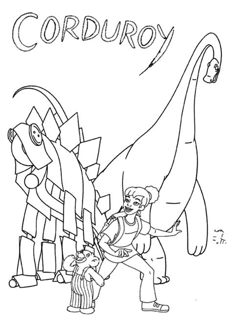 Pocket For Corduroy Coloring Page Coloring Pages Corduroy Coloring Pages