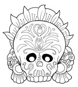 dia de los muertos skull coloring pages dia de los muertos skull coloring pages az coloring pages