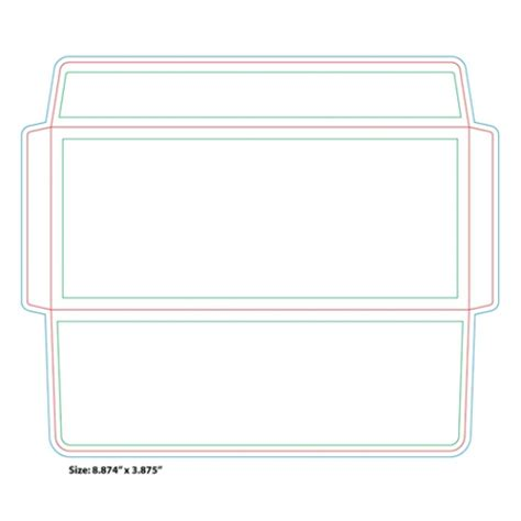 number 9 10 5x7 4x6 9x12 and other envelopes templates