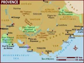 Map Of Provence France by Map Of Provence