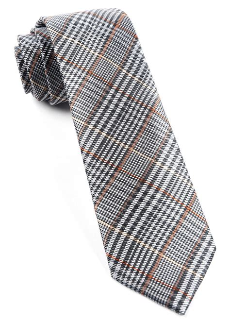 grey professor plaid tie ties bow ties and pocket