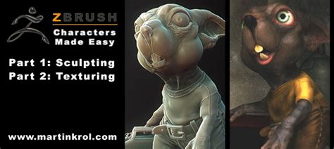 zbrush sculpting tutorial for beginners pixologic zbrush blog 187 zbrush characters made easy new