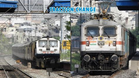FASTEST OVERNIGHT DIESEL TRAIN now ELECTRIC: 12213 DURONTO ...