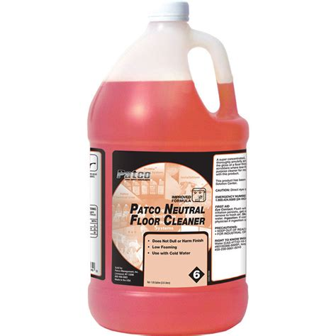 patco neutral floor cleaner bhc