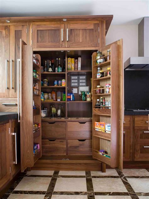 Kitchen Closet Pantry Ideas Functional And Stylish Designs Of Kitchen Pantry Cabinet