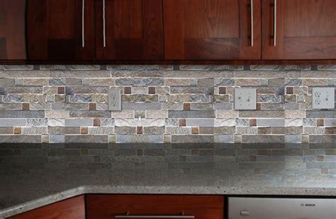 brick tile backsplash kitchen abana club for inspirations