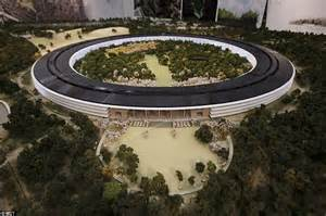 Apple Office by Apple S Spaceship Takes Shape Footage Reveals More