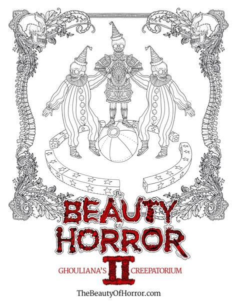 This Horror Coloring Book Is Equally Creepy And Relaxing Where To Buy Horror Coloring Books