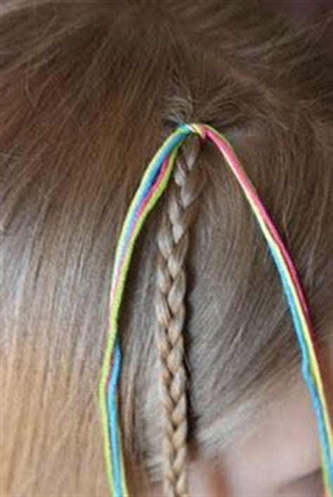 how to tie yarn into hair hair on pinterest string hair wraps girl hair braids