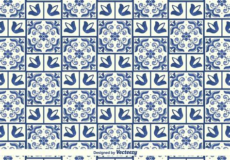 azulejo pattern vector traditional azulejos pattern download free vector