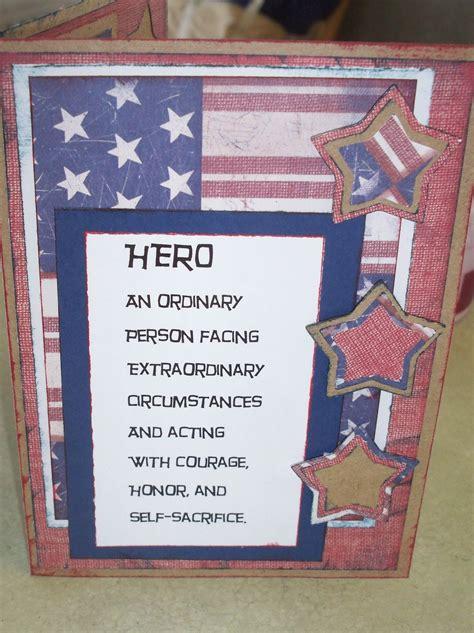 how to make memorial cards memorial day card craft diy