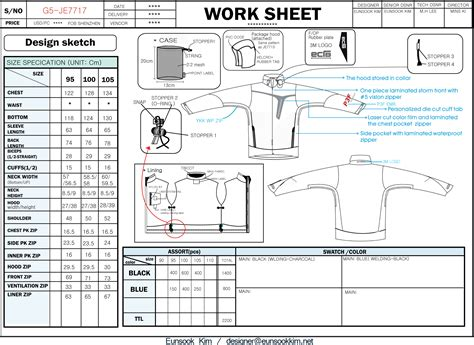 How To Make An Apparel Tech Pack Estoxconnect Clothing Tech Pack Template