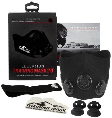 Elevation Mask Masker Latihan Size M elevation mask 2 0 high altitude size l all black price review and buy in dubai abu