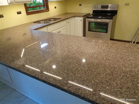 Quartz Countertops Reviews by Royal Brown Naperville Il Amf Brothers