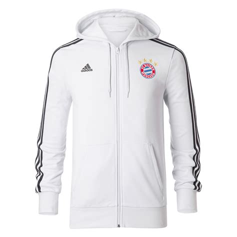 Sweater Bayern Munchenbayern Munchen Hoodiezipper bayern munich 2017 2018 3s hooded zip white bs0105 64 81 teamzo