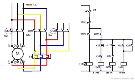 delta starter wiring diagram explanation wiring