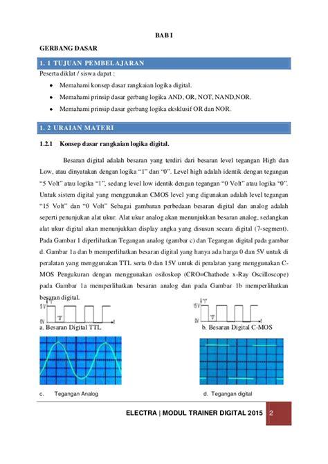 Dasar Teknik Digital Modul Dasar Teknik Digital 1