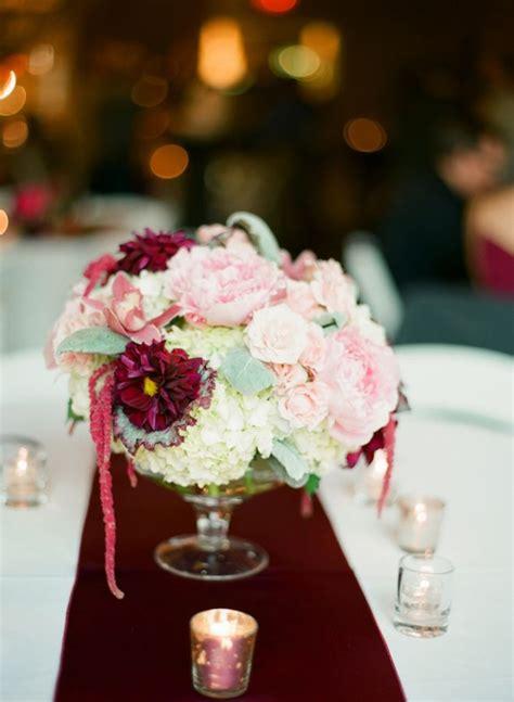 30 Best Images About Dusty Pink Burgundy Wedding On Burgundy Wedding Centerpieces