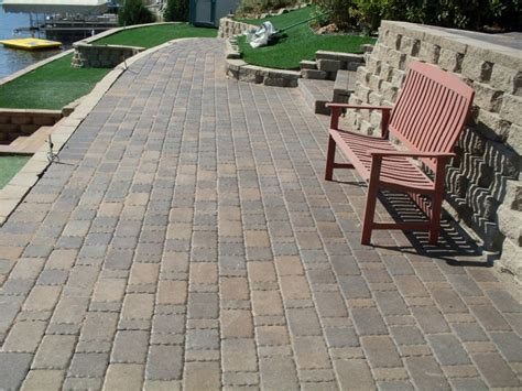 driveway patio  walkway landscaping  annandale
