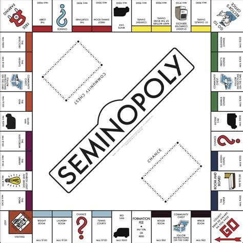 monopoly template image gallery monopoly board template