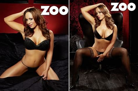 zoo magazine chanelle hayes chanelle hayes strips off for sexy underwear shoot and