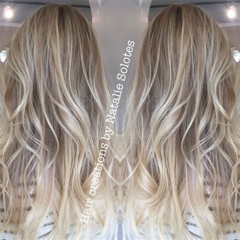 baby layered hair baby blonde babylights highlights icy cool toned blonde