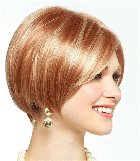 bob haircuts for round faces back and front very short hairstyles for round face females cute looks