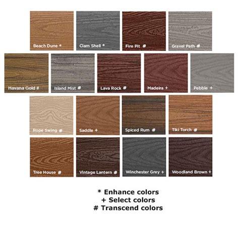 trex colors composite decking