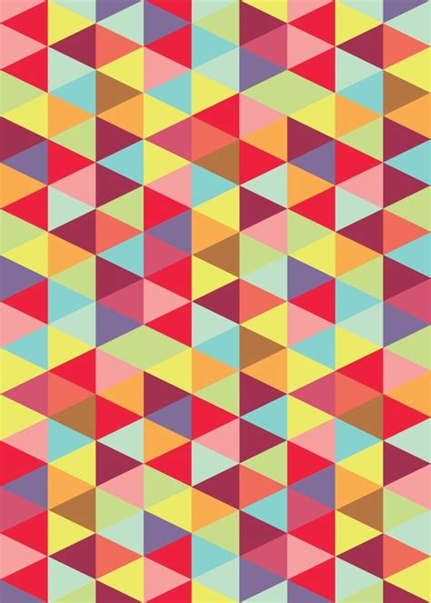 triangle up pattern colorful triangle pattern patterned pinterest
