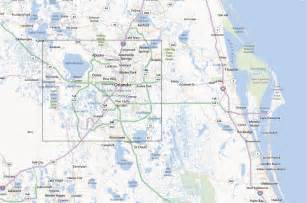 Orlando Location Map by Orlando Florida Usa Earthshots Satellite Images Of