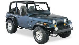 all things jeep jeep wrangler yj 1987 1995 front rear