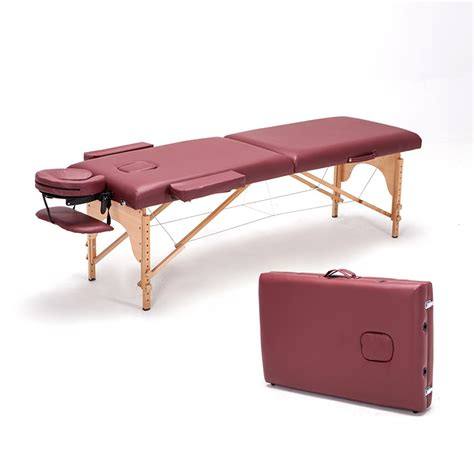 German Import Beech Massage Folding Massage Bed Portable Portable Bed