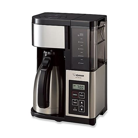 bed bath and beyond coffee makers zojirushi fresh brew plus thermal carafe coffee maker