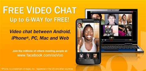 oovoo for android oovoo for android reaches 200 different devices