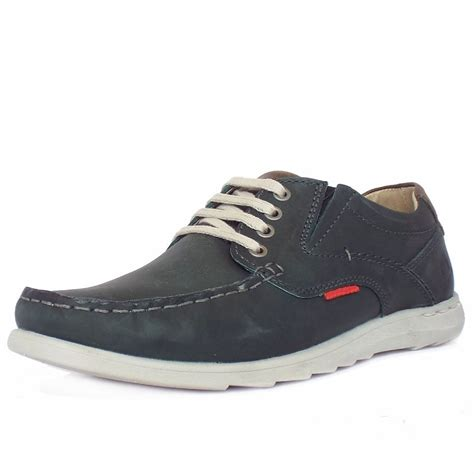 navy shoe chatham marine streetly grey navy leather s casual