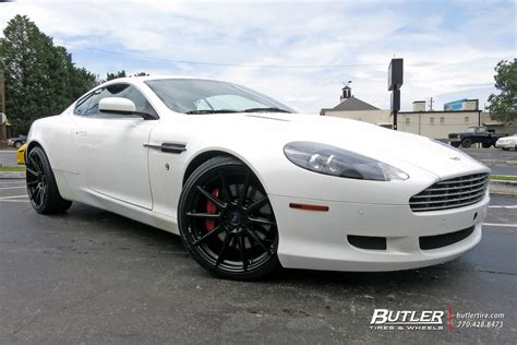 aston martin db9 custom aston martin db9 custom wheels niche essen 20x et tire
