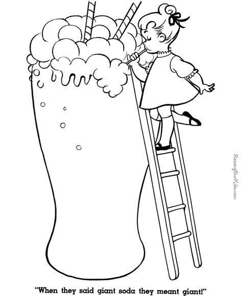 ice cream soda coloring page pin soda colouring pages ajilbabcom portal on pinterest