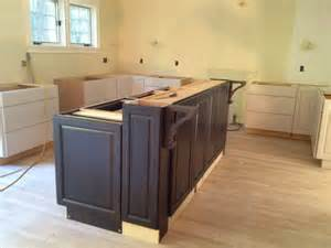 how to build a kitchen island with cabinets building a kitchen island pre made cabinets grateful48ghs