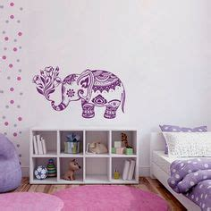 elephant bedroom c elephant wall decal family decals indian boho bedding home