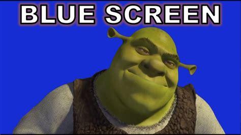 But He S shrek but he s green screen d blue screen d for memeing