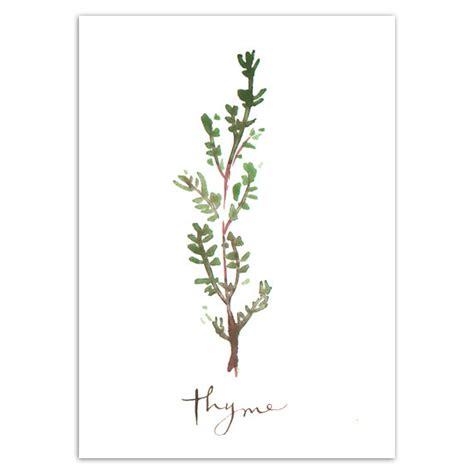 free printable herb poster set of four herb prints 5x7 kitchen decor food poster